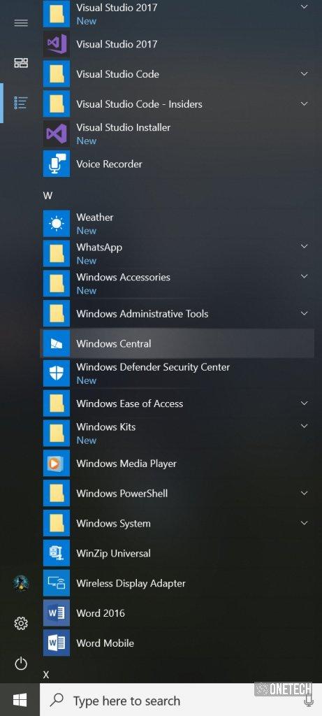 Ya puedes descargar la Build 17004 para la rama Skip Ahead de Windows 10 PC
