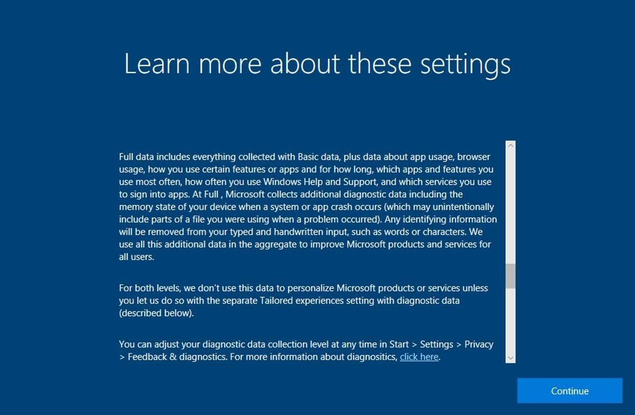 Microsoft detalla las mejoras de privacidad de Windows 10 Fall Creators Update