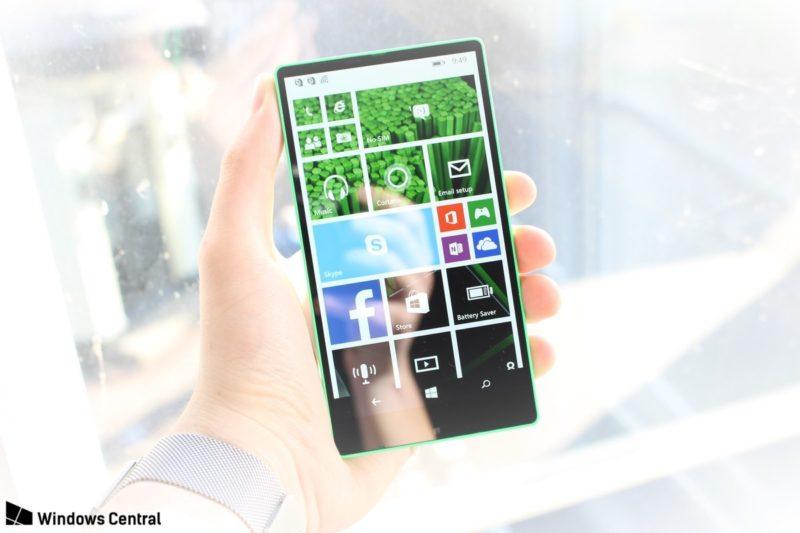 Lumia 435 sin marcos prototipo