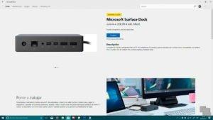 Microsoft Surface Dock a la venta en la Microsoft Store de Windows 10