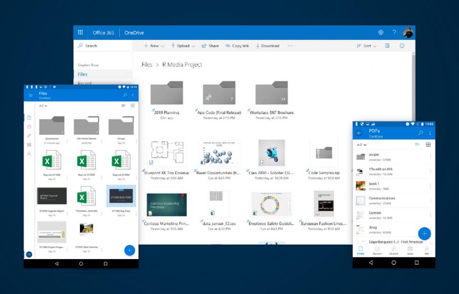 El reciente boceto y caracteristicas de OneDrive™ permaneceran utilizables en las próximas semanas