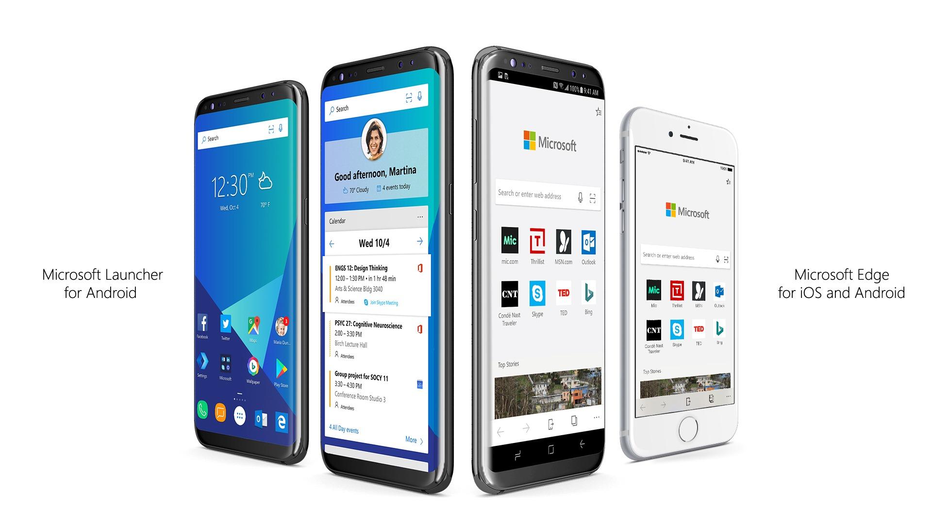 Microsoft anuncia la disponibilidad de Edge para iOS y Android