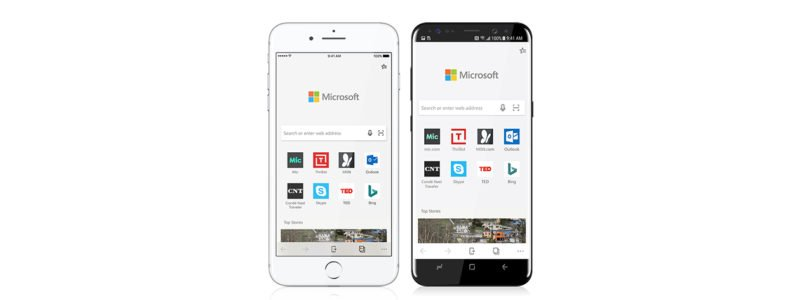Microsoft Edge Android ios