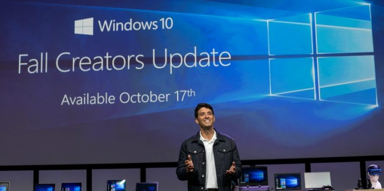 Ya disponible Windows 10 Fall Creators Update