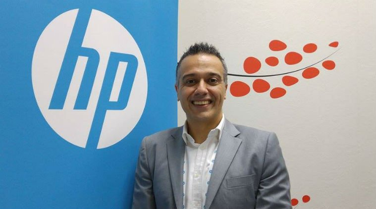 Nick Lazaridis, Presidente de HP EMEA