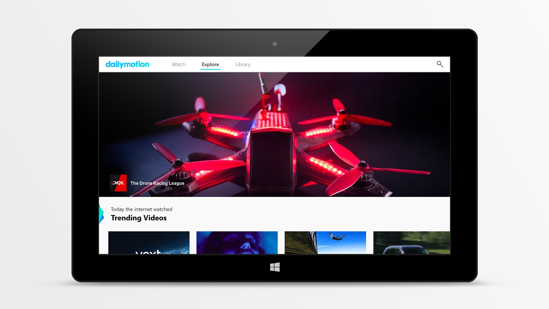 Dailymotion rediseña su aplicación para Windows