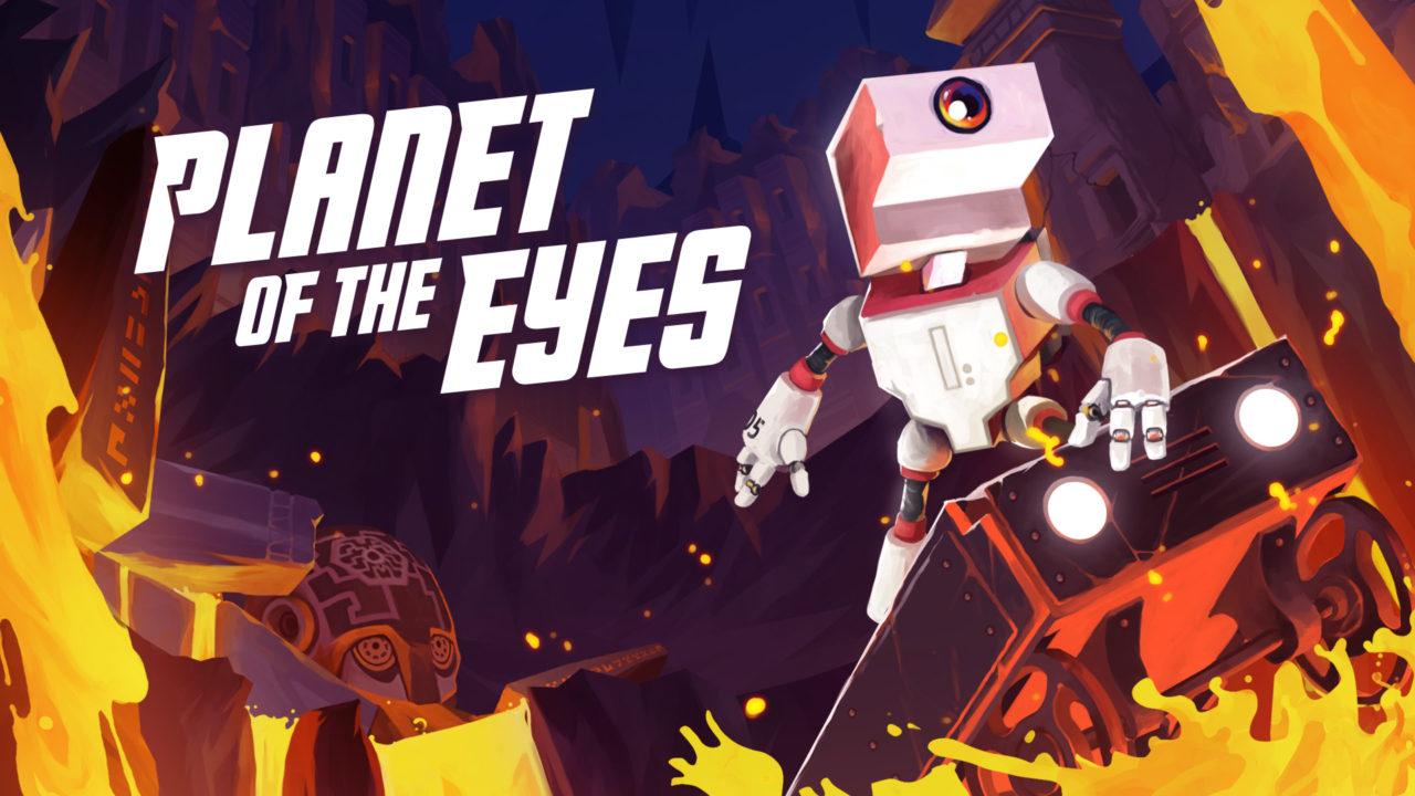 Planet of the Eyes, analizamos a este pequeño Robot