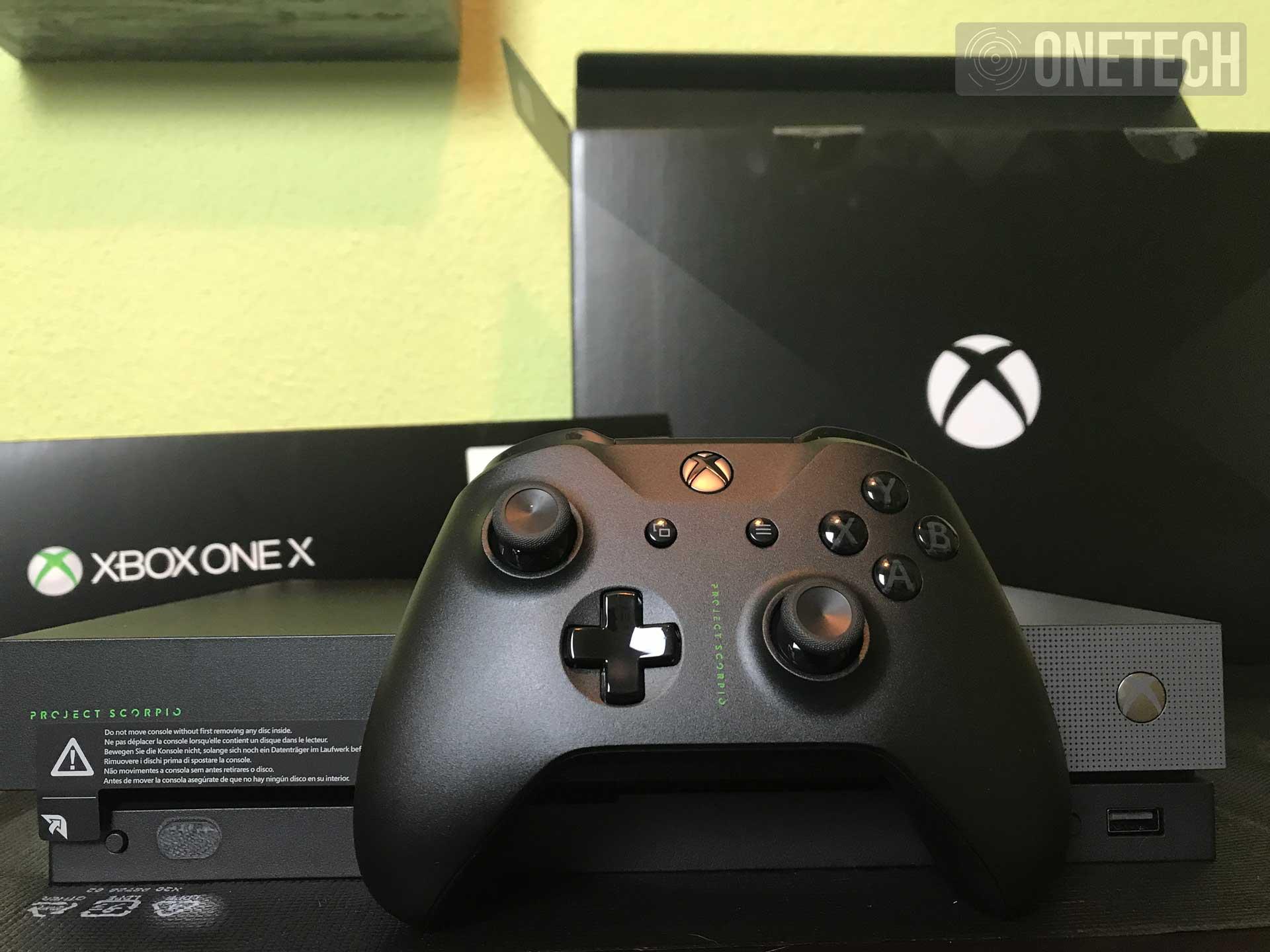 Unboxing Xbox One X Edición Project Scorpio. ¡La bestia ya está aquí!