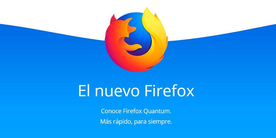 Firefox Quantum viene a plantar cara a Google Chrome