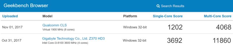 Filtradas las primeras laptops con procesadores ARM; desilusionan los benchmarks