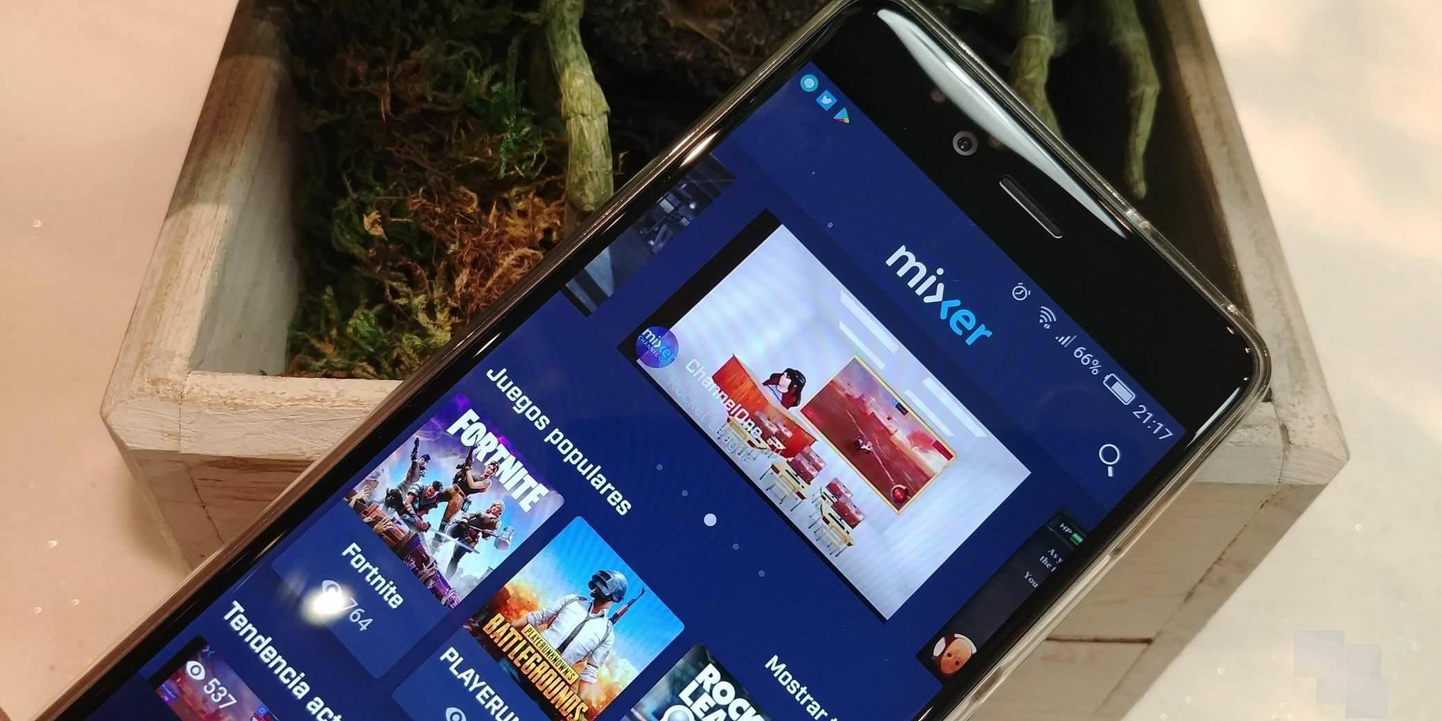 Mixer se actualiza para Android e iOS con varias novedades