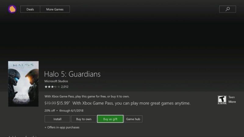 Ya pueden regalar juegos todos los usuarios Insider de Xbox One