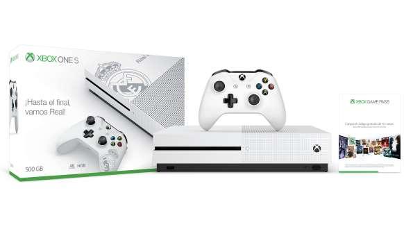 Microsoft lanza una edición limitada de Xbox One S dedicada al Real Madrid
