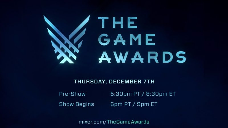 Ver la gala The Game Awards en Mixer tiene regalo