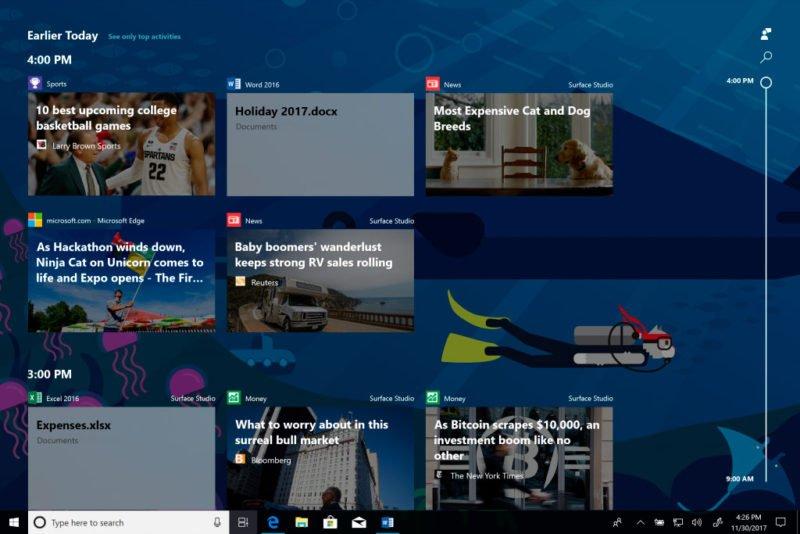 Microsoft ya habría escogido la compilación final de Windows 10 Spring Creators Update [Actualizado: No tan rápido]