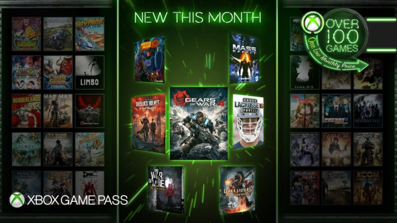 Gears of War 4, Darksiders y 5 juegos más llegan a Xbox Game Pass