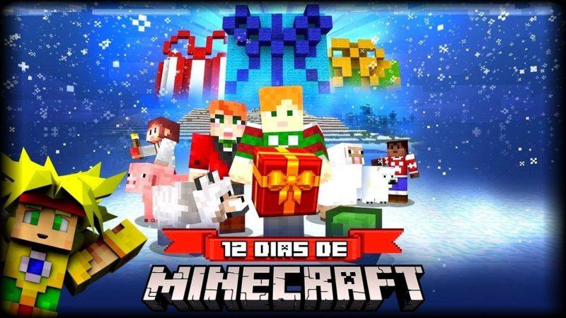 12 días de Minecraft para celebrar las Navidades