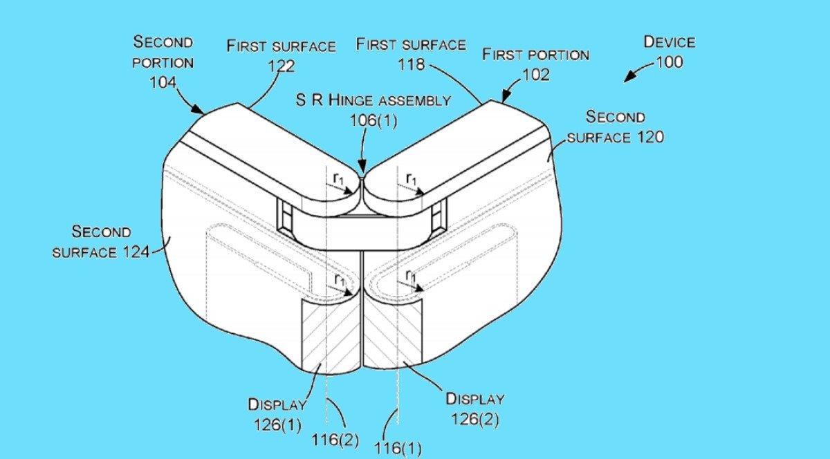Una nueva patente de Microsoft muestra un posible nuevo dispositivo Surface