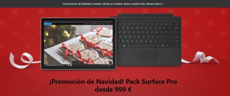 Surface Pro 128GB i5 el regalo perfecto para estas Navidades