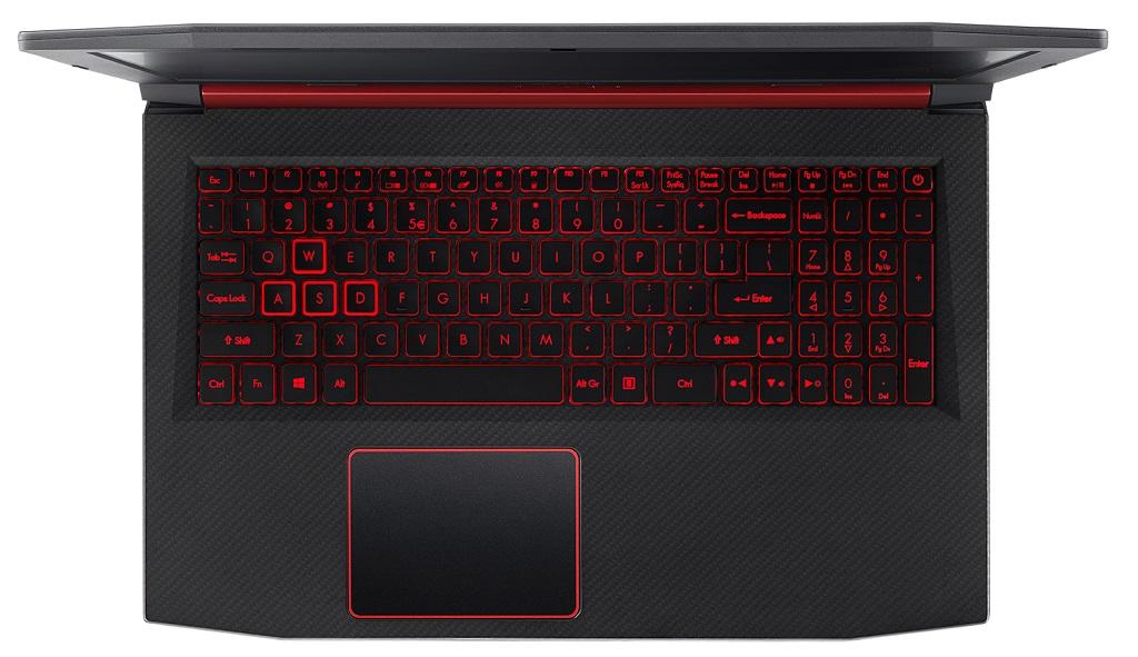 Teclado del Acer Nitro 5