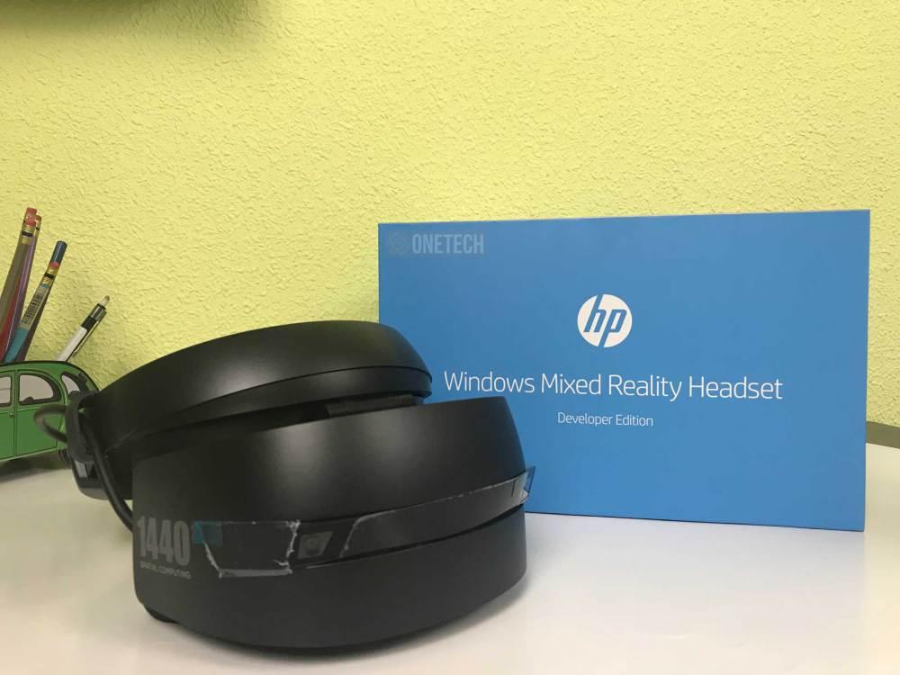Desempaquetamos el HP Windows Mixed Reality Headset