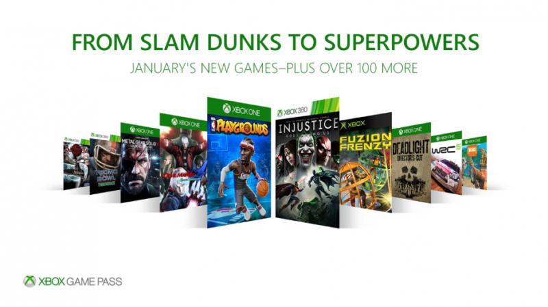 Xbox Game Pass añade 10 nuevos juegos este mes de Enero