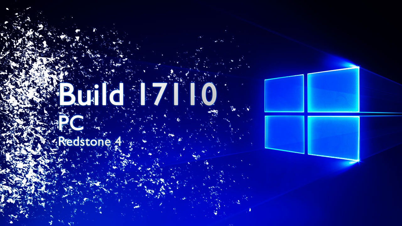 Build 17110 de Windows 10 disponible para Insiders con algunas mejoras y correcciones