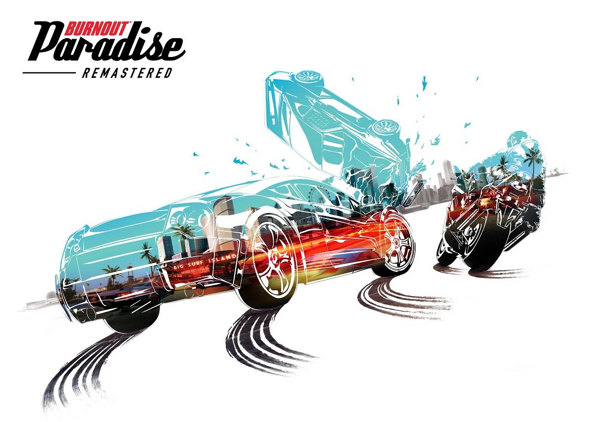 Burnout Paradise Remasteredllegará el 16 de marzo para PlayStation 4 y Xbox One.