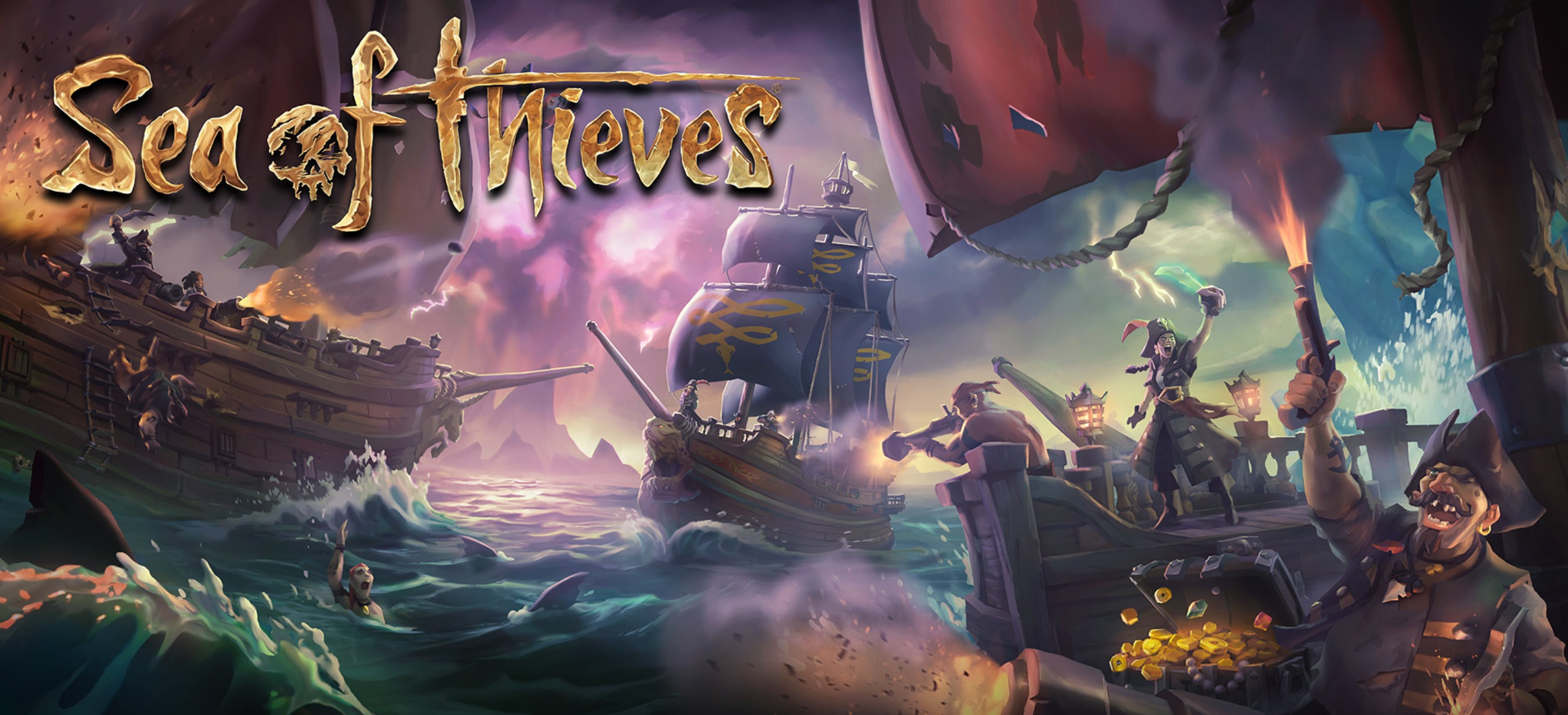 Sea of Thieves ya está disponible para Xbox One y Windows 10 PC