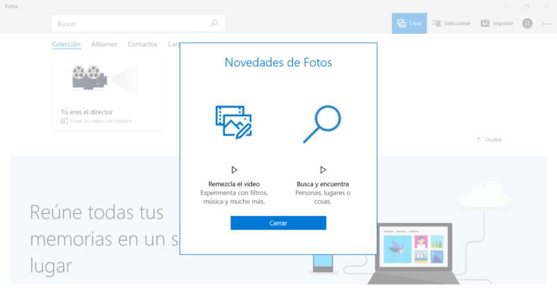 Microsoft lanza una nueva actualización de Fotos para el anillo Skip Ahead de Windows 10
