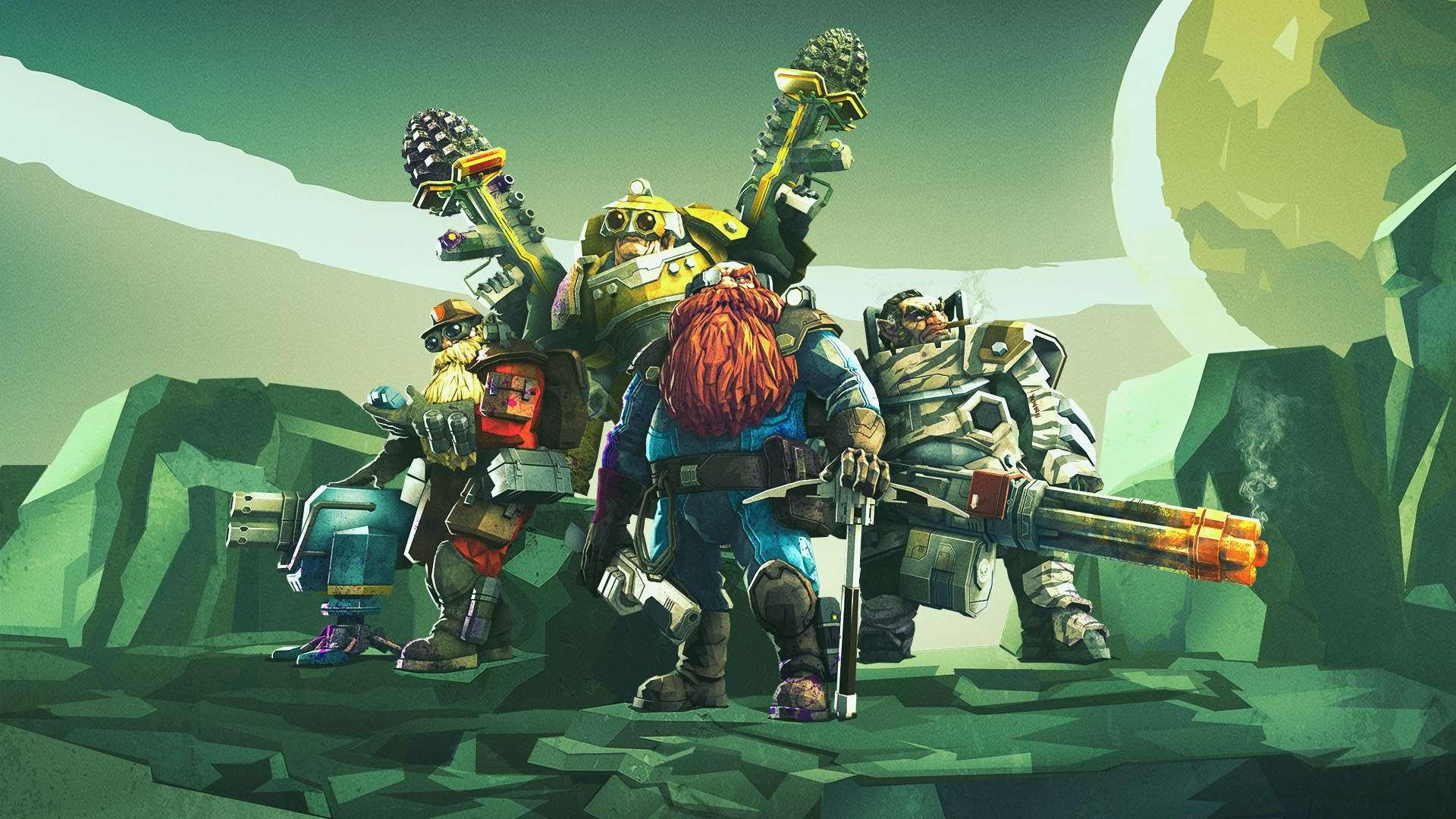 Deep Rock Galactic prueba su preview gratis en Windows 10 PC y Xbox One