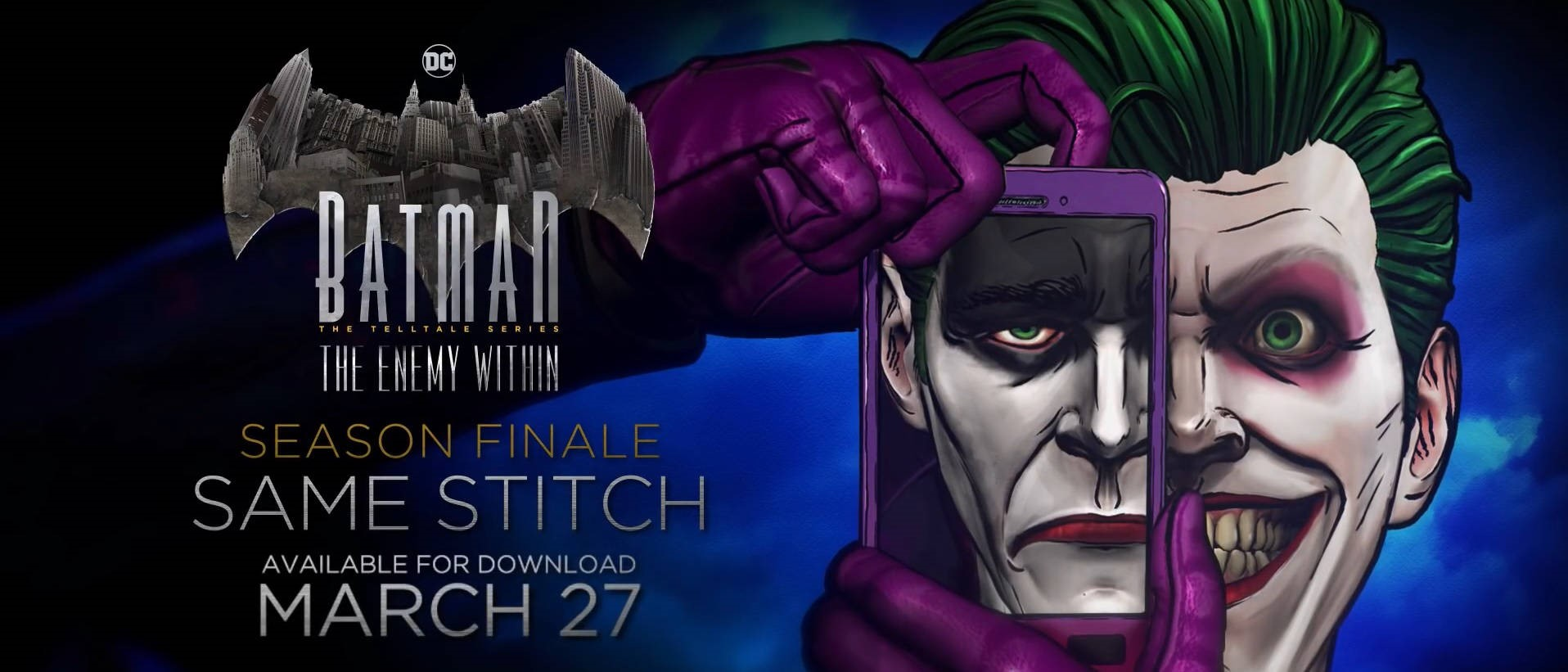 El episodio 5 de Batman: The Enemy Within disponible el 27 de marzo en Windows 10 y Xbox One