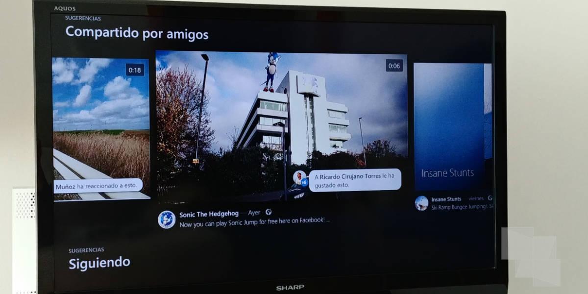 Facebook Video llega a Xbox One ¡Ya puedes descargarla!