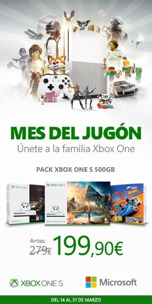 El Mes del jugón de Xbox One sigue con descuentos y el mayor concurso hasta la fecha