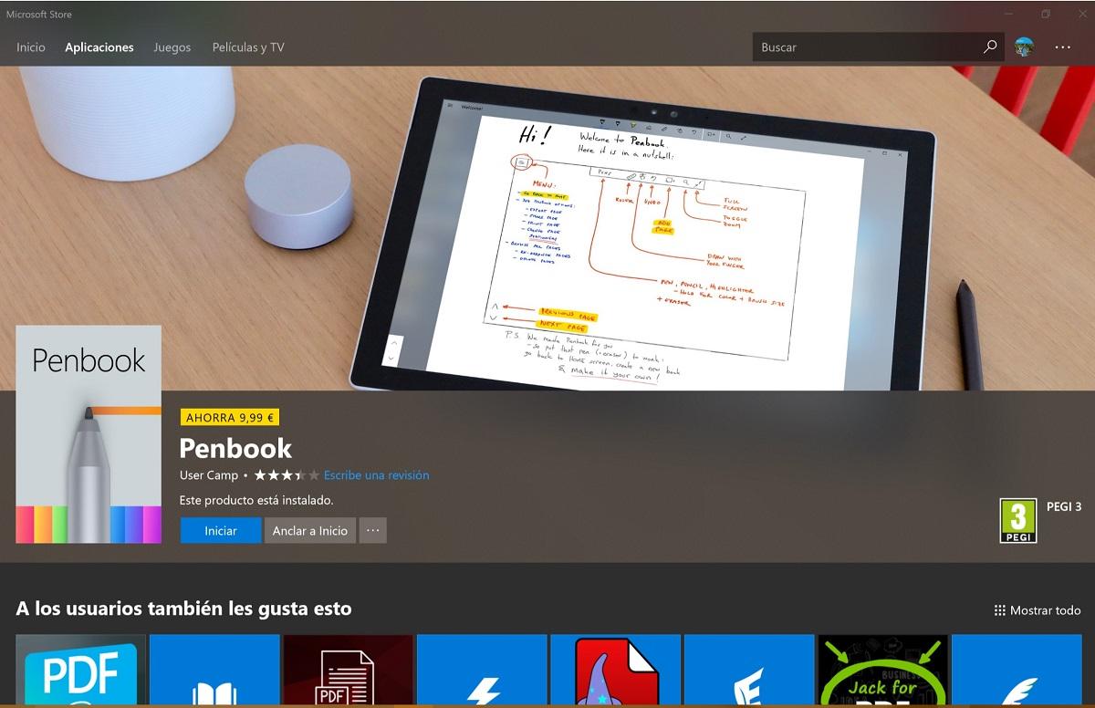 Consigue PenBook, la aplicación de escritura a mano alzada, gratis por tiempo limitado