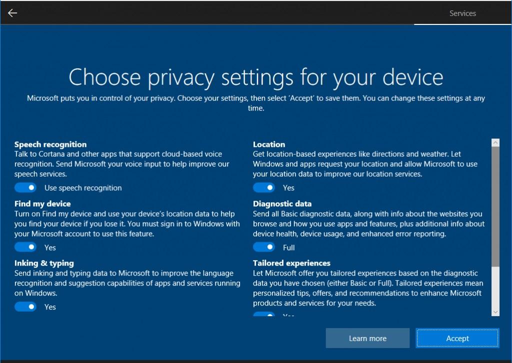 Nueva Build 17115 para el anillo rápido del programa Insider de Windows 10