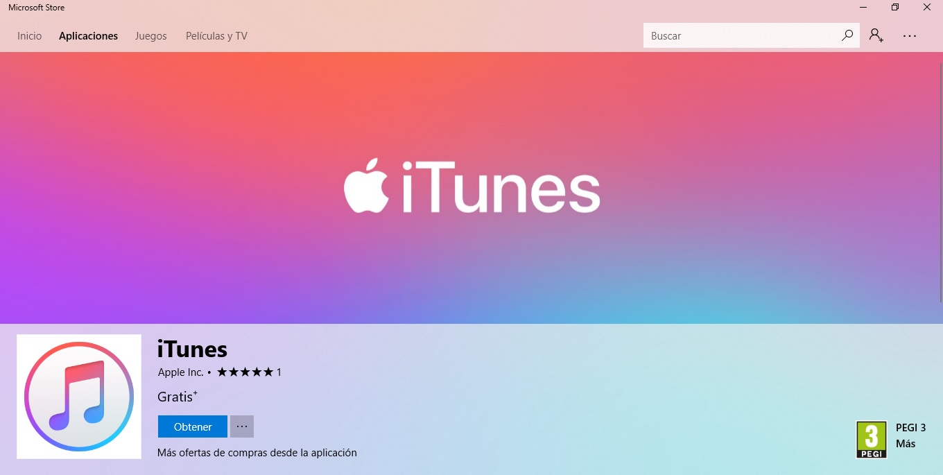 Apple lanza iTunes para Windows 10, ¡Descargalo ya!