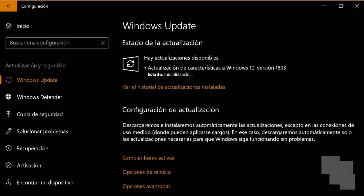 Ya está disponible Windows 10 April 2018 Update para instalar