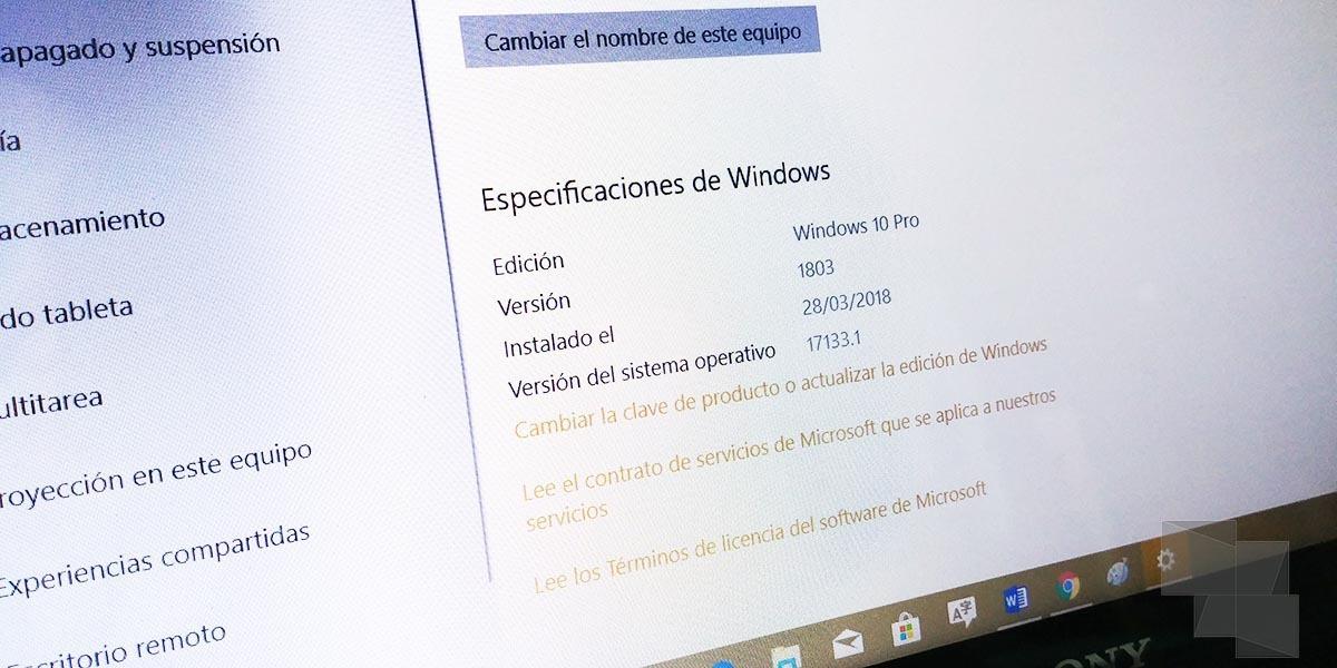 La Build 17133 Windows 10 Spring Creators Update, disponible en el anillo Release Preview