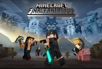 minecraft final fantasy-xv