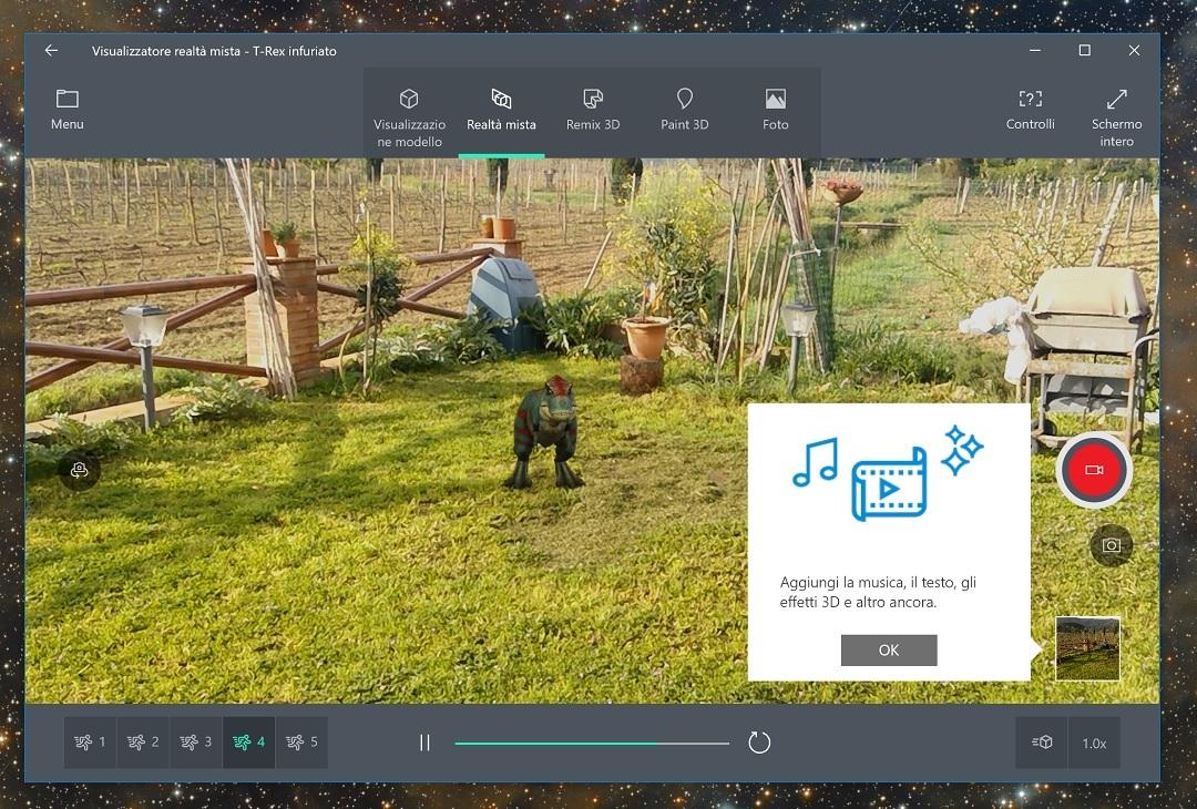 El Visor de realidad mixta de Windows 10 se renueva dentro del anillo Skip Ahead