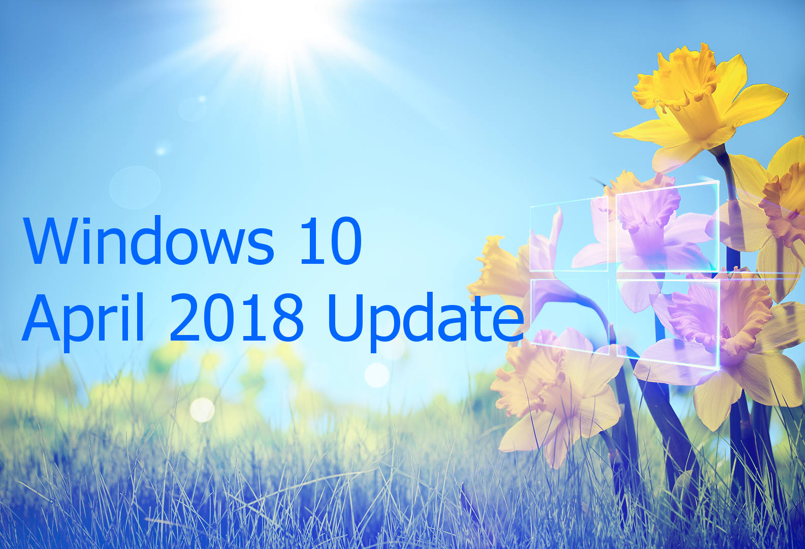 windows 10(diez) April 2018 Update