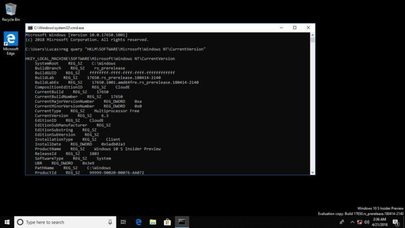"""Microsoft trabaja en una nueva edición """"Lite"""" para Windows 10 [Actualizado]"""