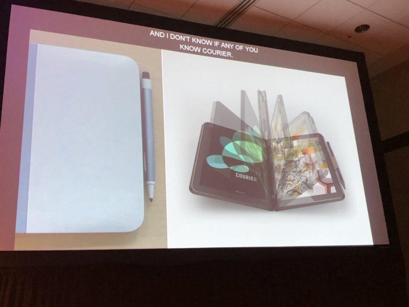 """Ya sabemos oficialmente qué pasó con Courier, el primer proyecto de un dispositivo """"foldable"""" de Microsoft"""
