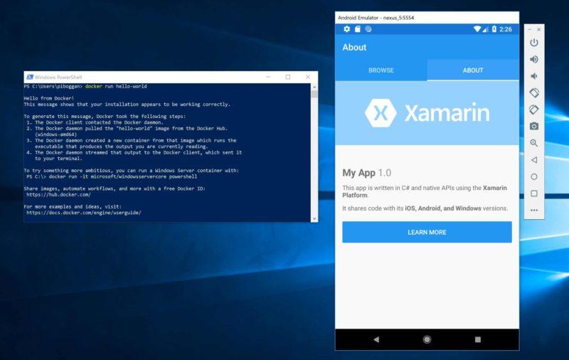 Microsoft anuncia soporte para emuladores Android basados en Hyper-V