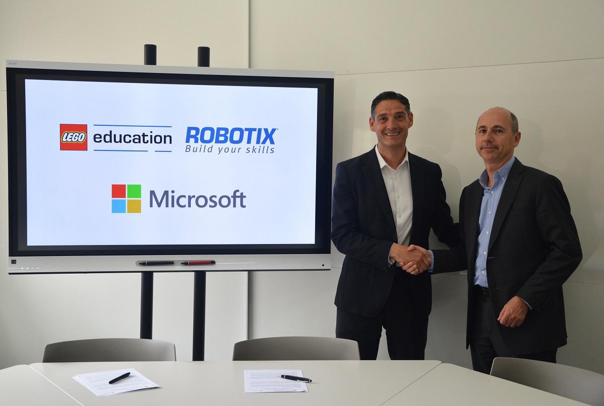Microsoft y Lego Education ROBOTIX fomentan la programación y robótica en los colegios de España