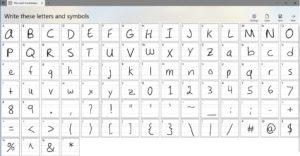Con Microsoft Font Maker, podrás crear tu propia fuente basada en tu escritura