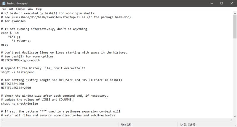 Microsoft anuncia el soporte de archivos con finalización de línea Unix y Macintosh en Notepad