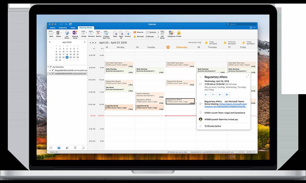 Microsoft anuncia nuevas funciones para Outlook y Calendario