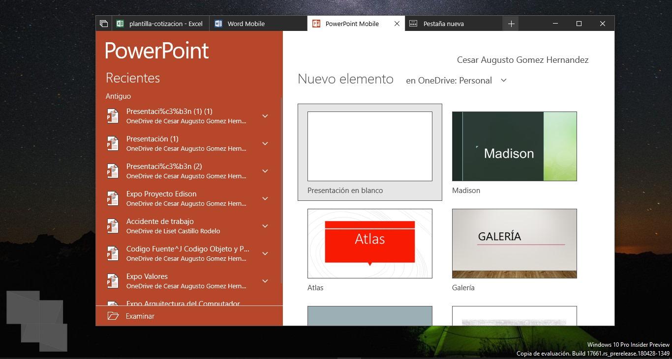 Activa Sets en tu dispositivo con Windows 10 Insider Preview